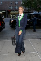 Heidi Klum Shows Off Her Eclectic Style - Returns to her Tribeca Hotel in New York 6/22/2016