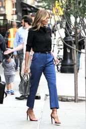 Heidi Klum Street Fashion - Out in Tribeca 6/13/2016