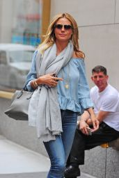Heidi Klum Urban Outfit - Out in NYC 6/16/2016