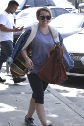 Hilary Duff - Leaves the Gym in Beverly Hills 5/31/2016