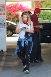 Hilary Duff - Leaving the Gym in West Hollywood, June 2016