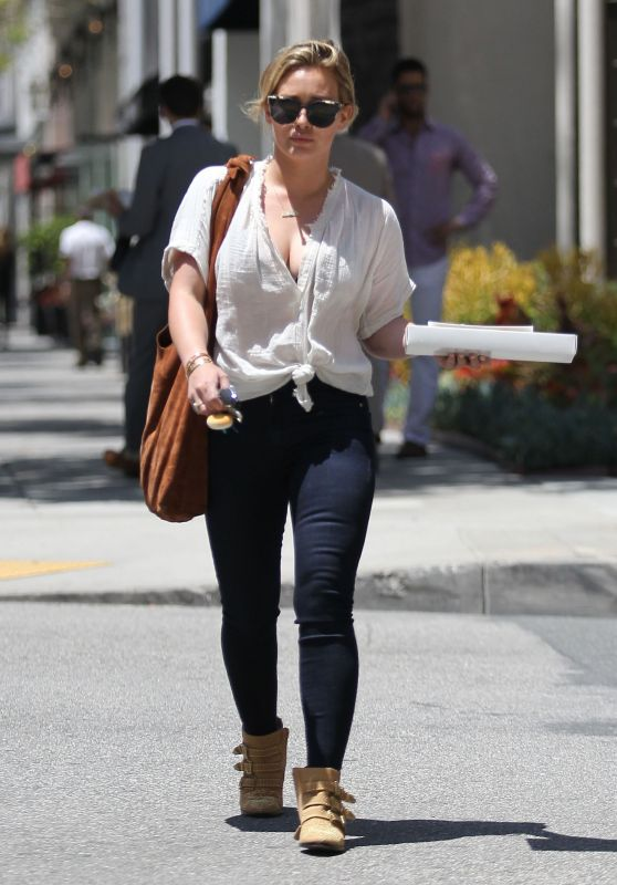 Hilary Duff - Out in Los Angeles 6/2/2016