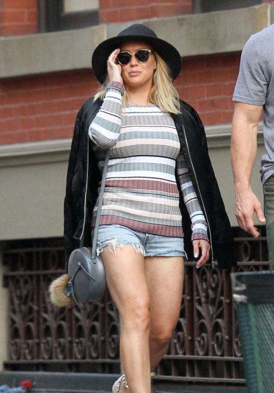 Hilary Duff - Out in NYC 6/19/2016