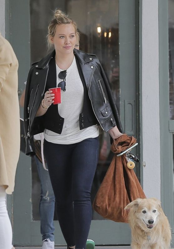 Hilary Duff - Shops in Brentwood 6/1/2016
