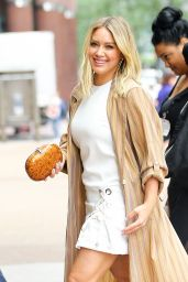 Hilary Duff Style - Out in Midtown New York 6/23/2016