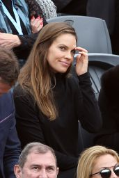 Hilary Swank - 2016 French Open Final of Roland Garros in Paris
