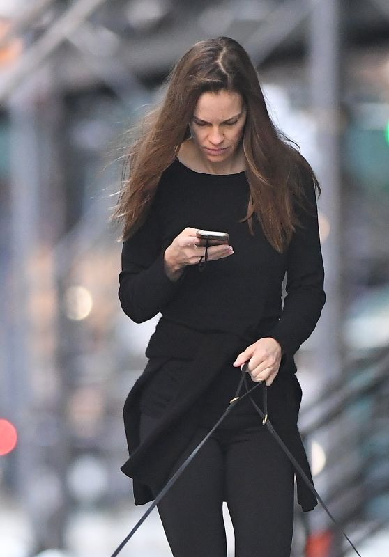 Hilary Swank - Out in New York City 6/18/2016