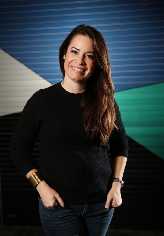 Holly Marie Combs - Portraits at Supanova, Sydney 6/19/2016