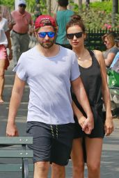 Irina Shayk and Bradley Cooper on a stroll in Tribeca, NYC 6/4/2016