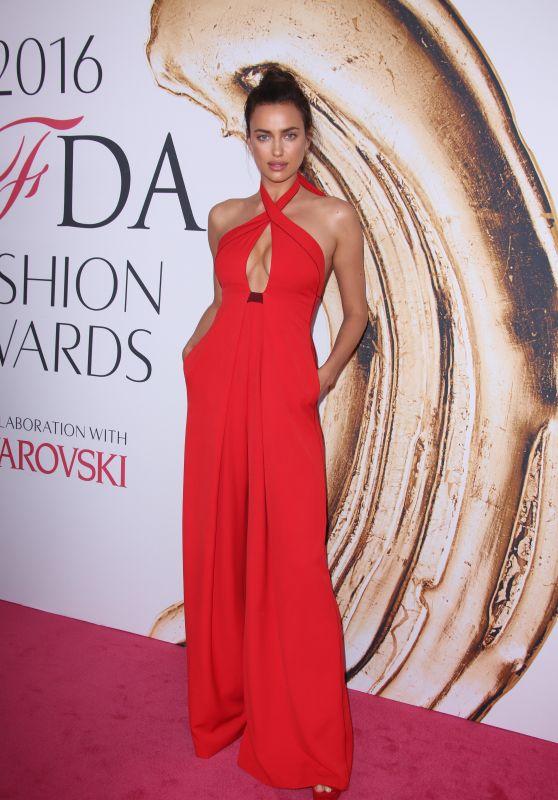 Irina Shayk – CFDA Fashion Awards in New York City 6/6/2016