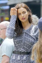 Irina Shayk - Photoshoot Set in New York City 6/18/2016