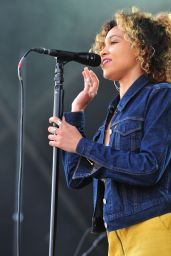 Izzy Bizu - Opens for Jess Glynne at Kingsholm Stadium in Gloucester, June 2016