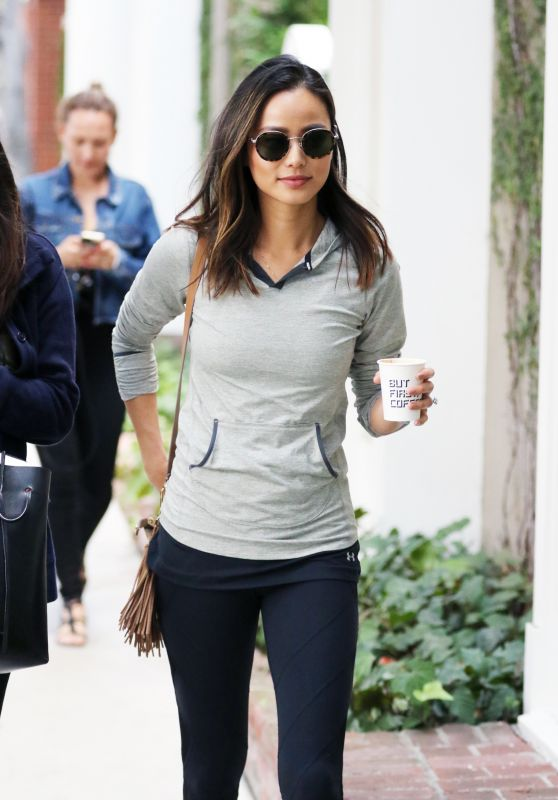 Jamie Chung Coffee Run - West Hollywood 6/15/2016