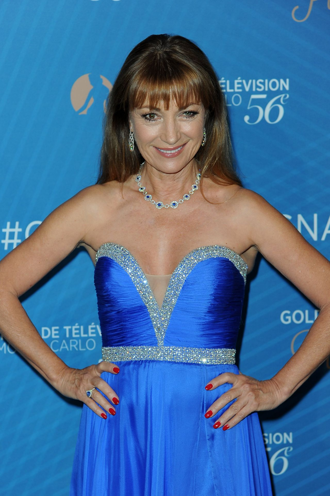 Jane Seymour Golden Nymph Nominee Party 2016 Monte