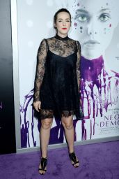 Jena Malone – 'The Neon Demon' Premiere in Los Angeles 6/14/2016
