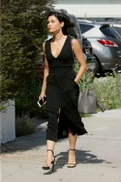 Jenna Dewan Fashion Style - Out in Los Angeles 6/23/2016