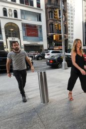 Jennifer Aniston Arrives at Nobu in New York City 6/19/2016