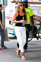 Jennifer Aniston Casual Style - Out in New York City 6/29/2016