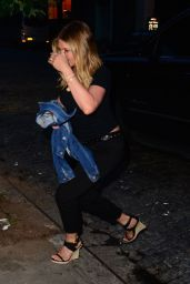Jennifer Aniston - Leaving a Restaurant in New York City 6/16/2016