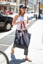 Jennifer Aniston Street Style - Shopping in SoHo, New York 6/15/2016