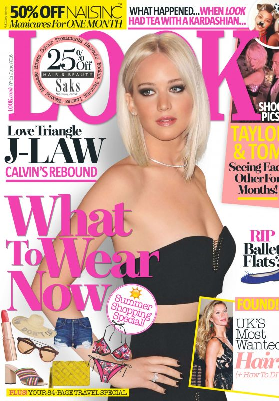 Jennifer Lawrence - Look Magazine UK June 2016 Issue