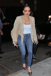 Jennifer Lopez in Tight Jeans - Out in New York City, June 2016