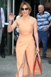 Jennifer Lopez Is Stylish- Oout in New York City 6/20/2016