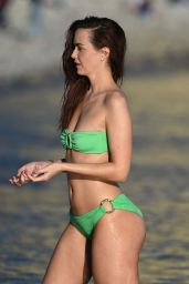 Jennifer Metcalfe in Bikini on a Beach in Ibiza, June 2016