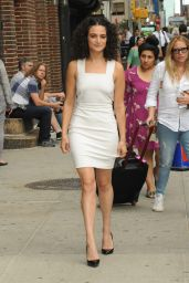 Jenny Slate at the Ed Sullivan Theater in New York City 6/27/2016