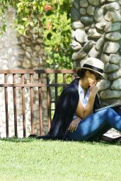 Jessica Alba at a Park in Los Angeles 6/4/2016