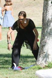 Jessica Alba - Birthday Party For Her Hid in Beverly Hills 6/18/2016