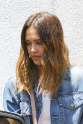 Jessica Alba Casual Style - Out in Weho 6/5/2016