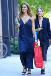 Jessica Alba Fashion Star - Out in New York City 6/14/2016