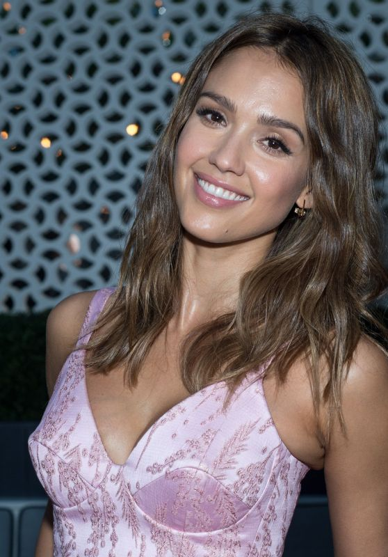 Jessica Alba - InStyle Cover Dinner in New York City, June 2016