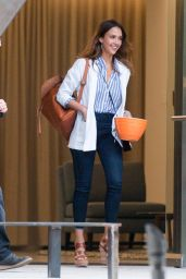 Jessica Alba Is Stylish - Out in Los Angeles 6/2/2016