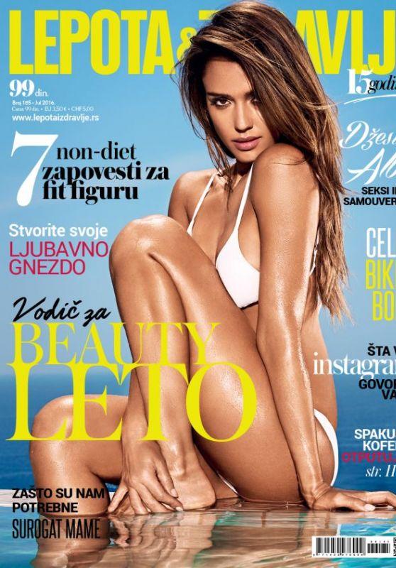 Jessica Alba - Lepota & Zdravlje Magazine July 2016 Cover