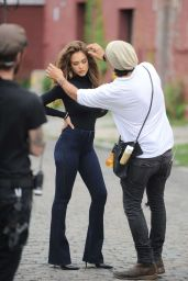 Jessica Alba - Photoshoot Set in New York City 6/29/2016