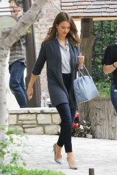 Jessica Alba Urban Outfit - Out in Westwood, CA, 6/9/2016