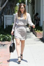 Jessica Biel - Shopping on Melrose Place at Zimmerman West Hollywood, 6/23/2016