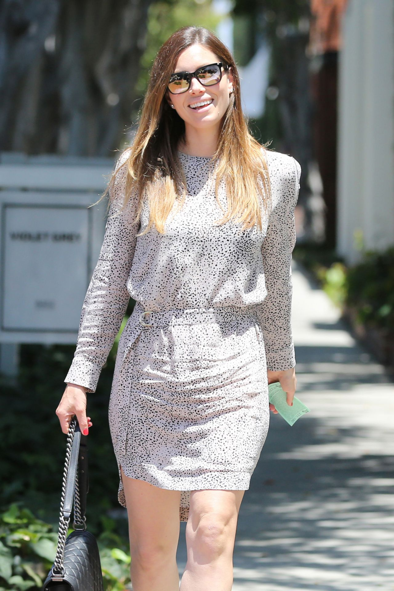 Jessica Biel - Shopping on Melrose Place at Zimmerman West ... Jessica Biel