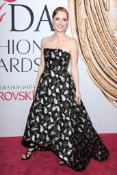 Jessica Chastain – CFDA Fashion Awards in Hammerstein Ballroom, New York City 6/6/2016