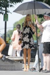Jessica Hart - Doing a Photoshoot in New York City 6/21/2016