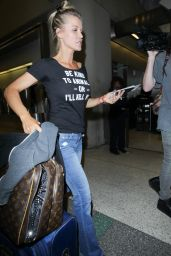 Joanna Krupa at LAX Airport in Los Angeles 6/10/2016