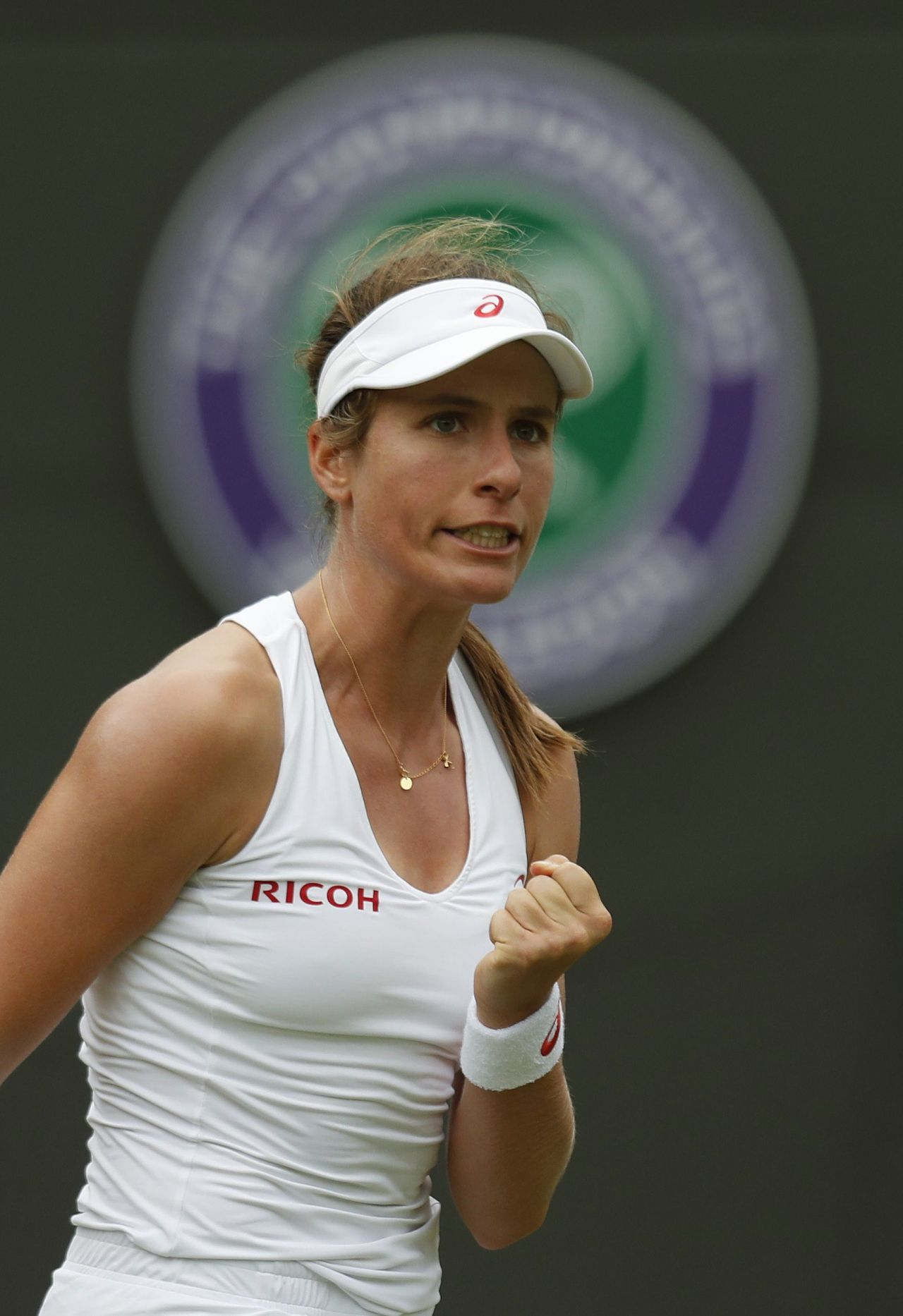 Johanna Konta Wimbledon Tennis Championships 2016 1st
