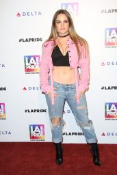 JoJo Levesque - L.A. Pride Music Festival in Los Angeles 6/11/2016