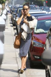 Jordana Brewster - Out in Brentwood 6/28/2016