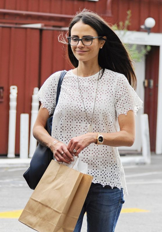 Jordana Brewster - Shopping in Los Angeles 6/2/2016