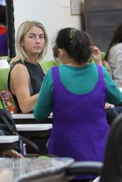 Julianne Hough - at a Nail Salon in West Hollywood 5/31/2016