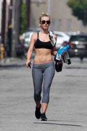 Julianne Hough – Leaves Her Gym in Los Angeles 6/8/2016