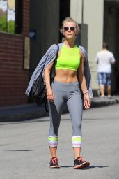 Julianne Hough - Leaving a Gym in Beverly Hills 6/16/2016